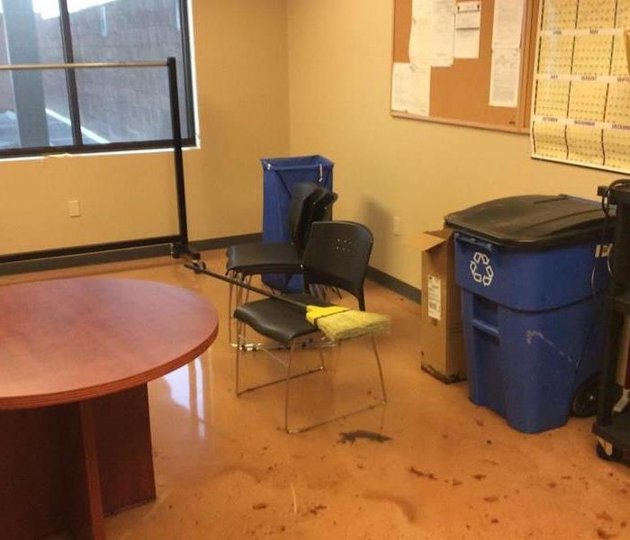 Water Damage in Office